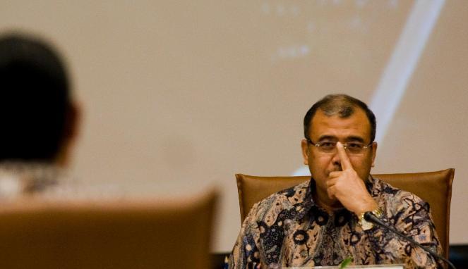 Patrialis Akbar Terkena OTT KPK di Hotel Kawasan Esek-Esek