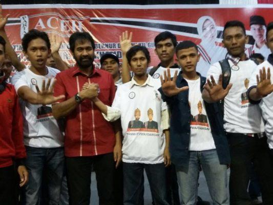 Rakan Mualem Banda Aceh Siap Menangkan Mualem dan Illiza