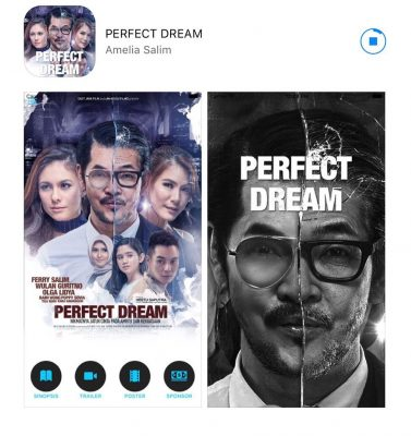 Film The Perfect Dream Siapkan Aplikasi Android & Apple