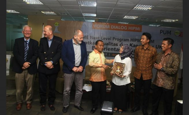 Bertekad Majukan UKM Indonesia, HIPMI Gandeng Lembaga Asal Belanda