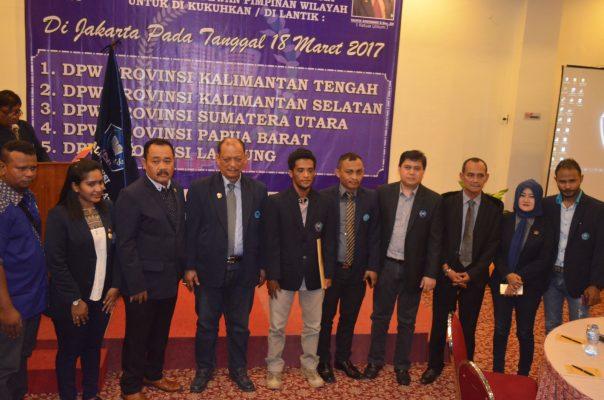 DPP IPJI Resmi Lantik 5 DPW Di Jakarta
