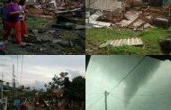Ratusan Rumah di Langlang Rusak Diterjang Puting Beliung