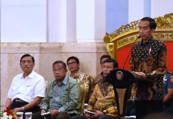 Ini 9 Arahan Presiden Jokowi Terkait Desain Belanja 2018