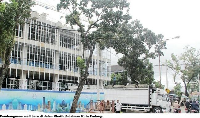 Dprd Padang Sorot Kemacetan Jalur Khatib Sulaiman Karena Aktifitas Pembangunan Mall Beritalima Com