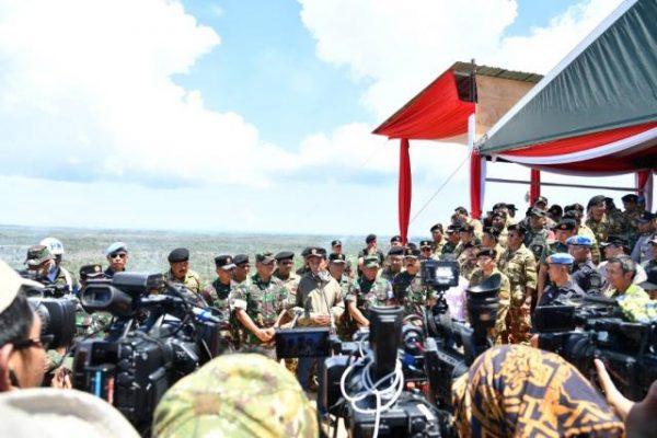 Presiden Jokowi Sampaikan Duka Cita Gugurnya Prajurit TNI