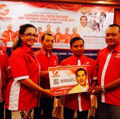 Partai Parsindo : Clear Tidak Ada Aliran Dana Tommy Untuk Makar