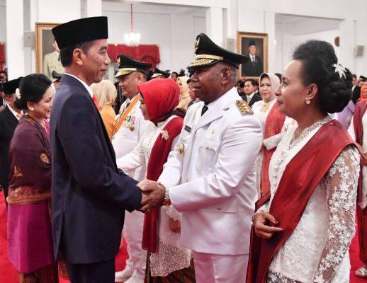 Presiden Jokowi Lantik Lima Gubernur dan Wakil Gubernur
