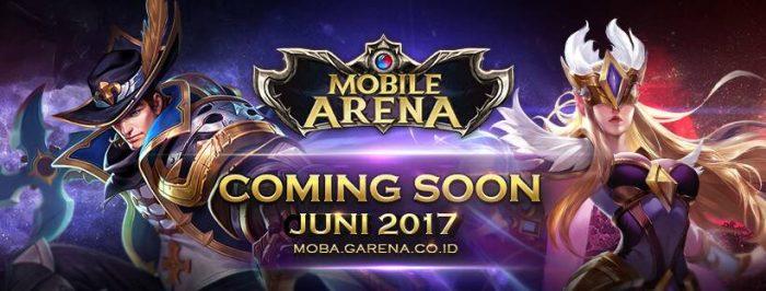 Garena Indonesia Luncurkan Game Berjudul Mobile Arena