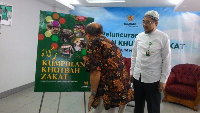 BAZNAS Luncurkan Buku Kumpulan Khutbah Jum'at