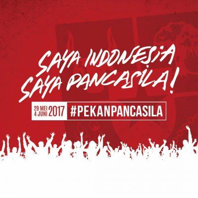 Pemerintah Gelar Pekan Pancasila di 1 Juni