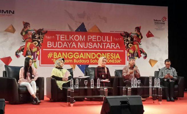 Soft Launching Telkom Peduli Budaya Nusantara