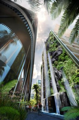 Menakjubkan, Di Waterfall by Crown Group Ada Air Tertinggi Di Australia
