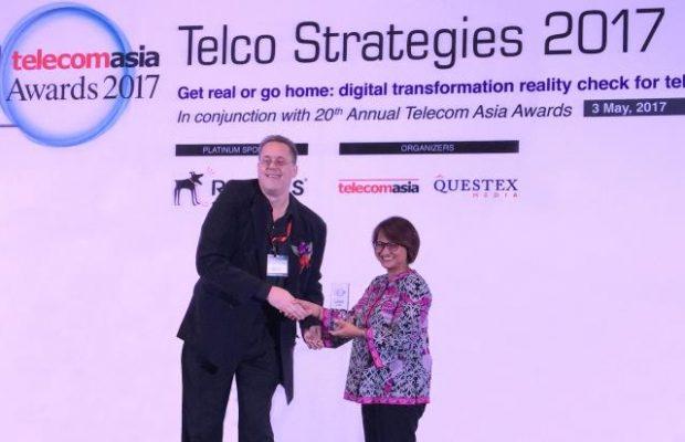 XL Axiata Raih Telecom Asia Award 2017