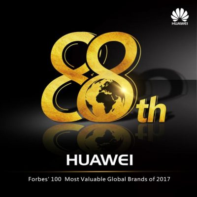 Huawei Tembus Daftar Forbes 'The Most Valuable Brands 2017'