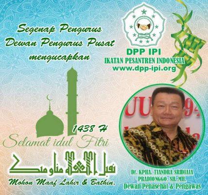 DPP Ikatan Pesantren Indonesia Sampaikan Ucapan Idul Fitri 1438 H