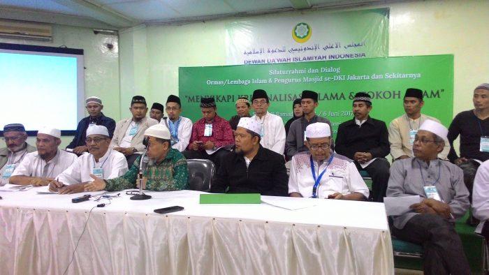 Pernyataan Sikap Ormas Islam dan Pengurus Masjid Se – Jabodetabek