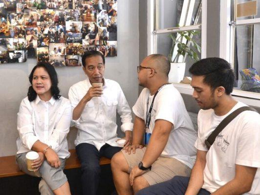 Presiden Jokowi Apresiasi Keberanian Gunakan 'Brand' Lokal