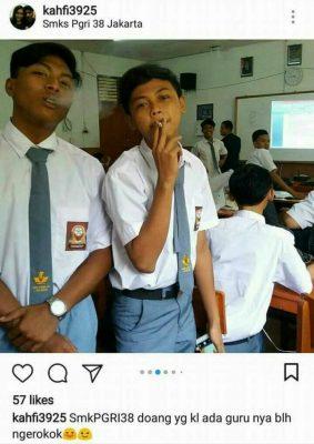 Sudin Pendidikan II Jakut Tindak Lanjuti Viralnya Bebas Merokok di SMK PGRI 38 Jakarta