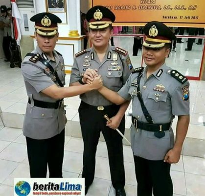 Pesan Kapolrestabes, AKBP Leonard Harus Lebih Tegas Amankan Kota Surabaya
