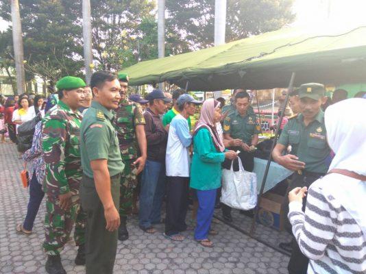 Bazzar Murah Meriah Sambut HUT RI Dan TNI Ke-72