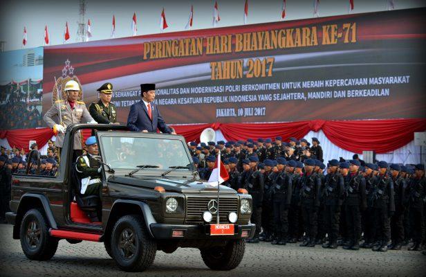 Kepercayaan Publik Meningkat, Presiden Jokowi Apresiasi Kerja Keras Polri