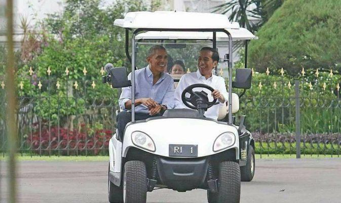 Presiden Jokowi Temui Obama di Istana Kepresidenan Bogor