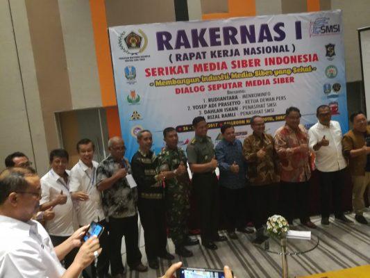 Rakernas I SMSI 2017 di Surabaya Resmi Dibuka
