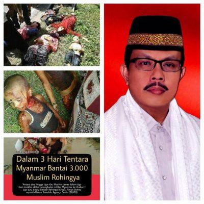 LSM LIRA Desak Pemerintah Ambil Sikap Politik Pembantaian Myanmar di Rohingnya
