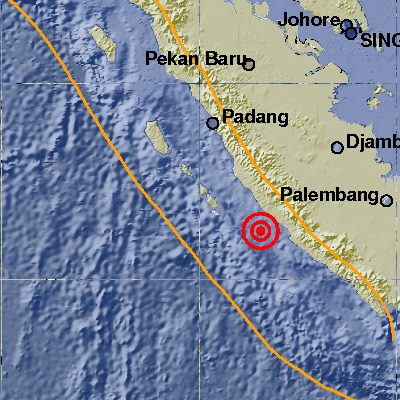 Gempa Bumi 6,6 SR, Guncang Bengkulu
