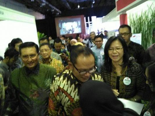 Fadel Muh Membuka Acara CSR