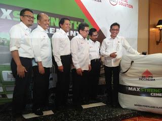 Semen Indonesia Luncurkan Produk Baru Merek MAXSTRENGTH Cement