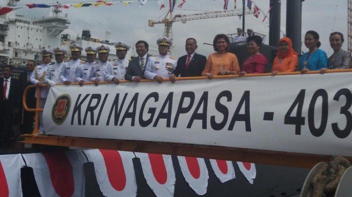 Kasum TNI Hadiri Peresmian KRI Nagapasa-403