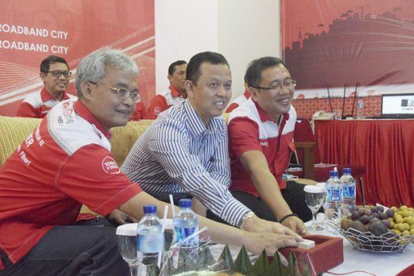 Telkom Jadikan Sukabumi Kota Pertama 100 Persen Fiber Optik