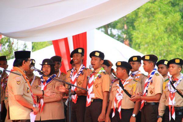 Hari Kemerdekaan, Adhyaksa Dault Minta Pramuka Belajar Sejarah Indonesia