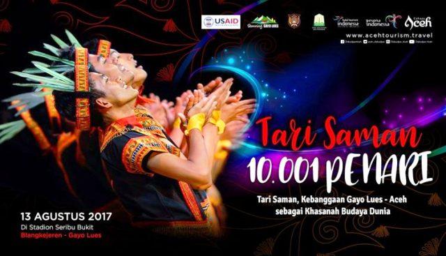 Pagelaran Saman 10.001 Penari, Daya Tarik Budaya Gayo Lues