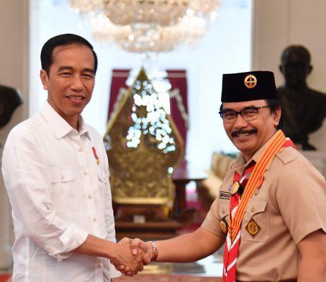 Presiden Jokowi: Pramuka Harus Siap Menghadapi Tantangan Global