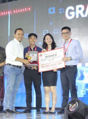 Mahasiswa NTU Asal Indonesia Juarai Socio Digi Leaders 2017