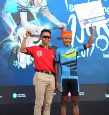 Pembalap BRCC Raih juara Katagori Nasional ITdBI 2017 Etape II