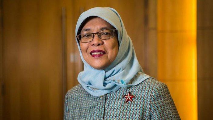 Halimah, Penjual Nasi Padang Dilantik Jadi Presiden Singapura