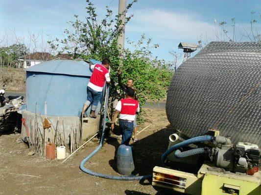 Probolinggo dilanda kekeringan, Lsm LIRA Distribusikan Air Bersih dan Beras ke Masyarakat