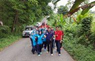 Rutan Baturaja Gelar Pertandingan dan Jalan Sehat