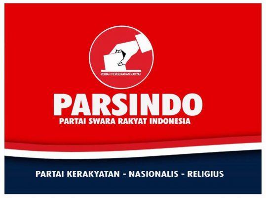 PARSINDO Akan Jadi Partai Anti Korupsi Bangun Bangsa