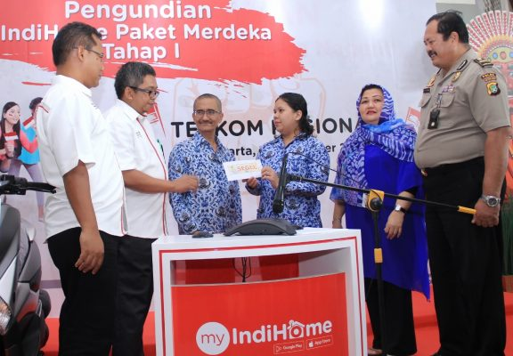Telkom Umumkan Pemenang Tahap I Undian IndiHome Paket Merdeka