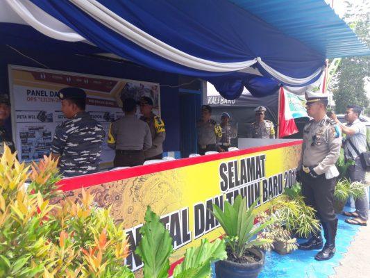 Kapolres Banyuwangi Cek Seluruh PosPam Ops Lilin Semeru 2017