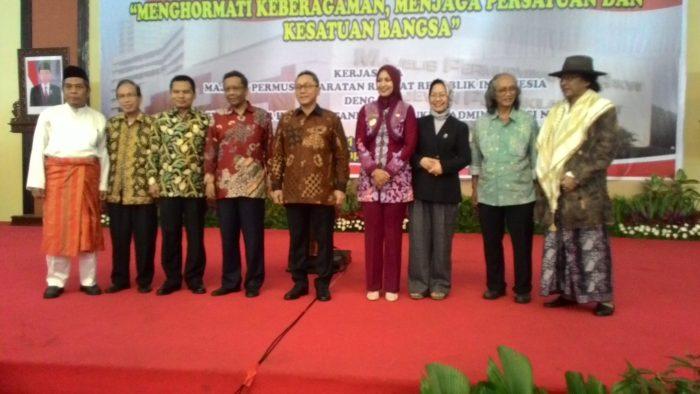 Simposium Nasional, Ketua MPR RI Sebut Indonesia Terjadi Kesenjangan Sosial
