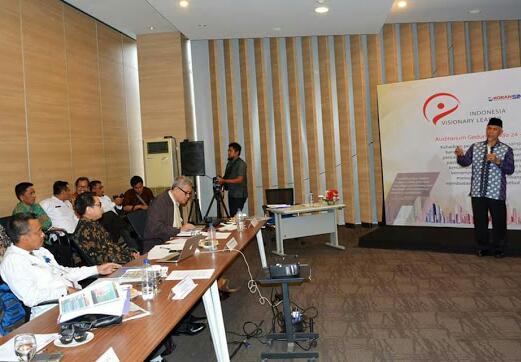 Visionary Leader, Mahyeldi Paparkan Visi Memimpin Kota Padang di Jakarta