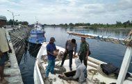 Babinsa Kelurahan Kampung Mandar Himbau Nelayan Untuk Selalu Waspada Terhadap Segala Cuaca