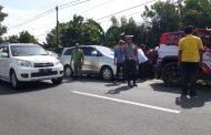 Unit Turjawali Polres Banyuwangi Kawal Kunjungan Tomy Suharto