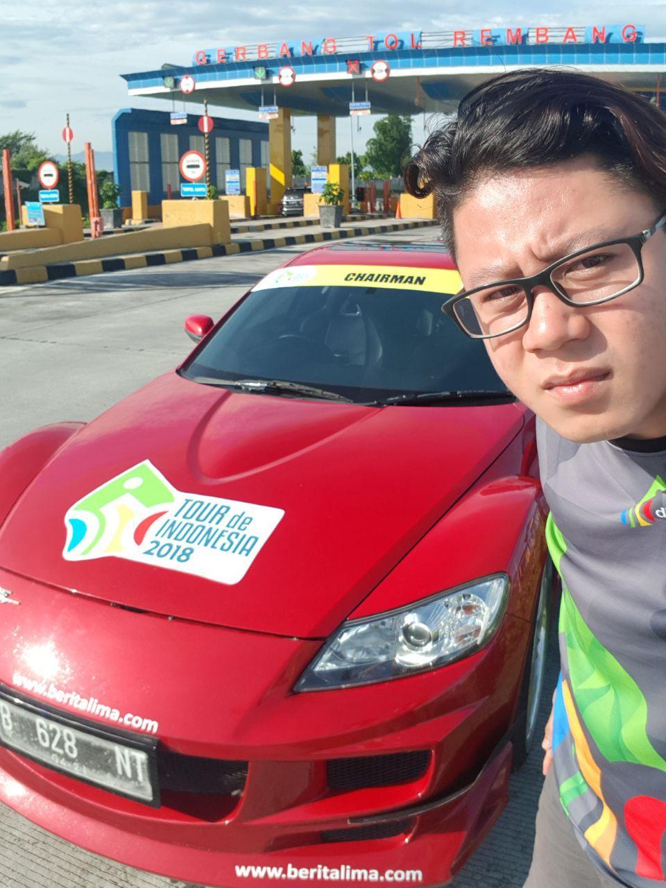 Beritalima Kawal Tour De Indonesia 2018 Tian Putra