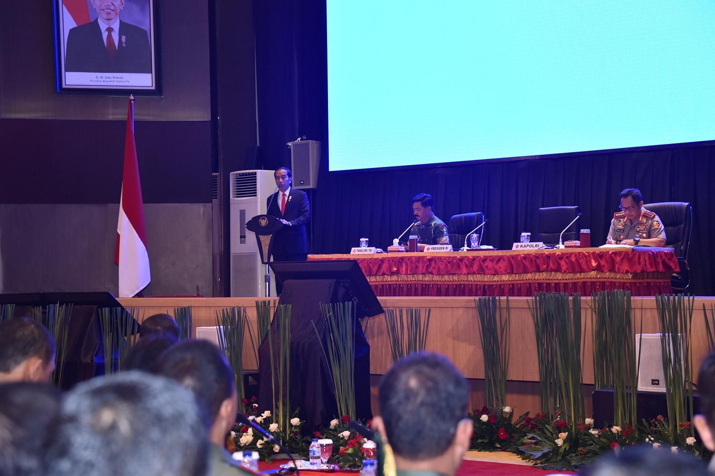 Presiden RI Perintahkan Jaga Sinergitas dan Soliditas TNI-Polri